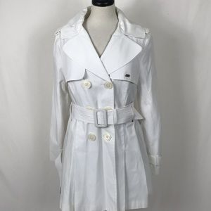 Miss Sixty Trench Coat Double Breasted Jacket